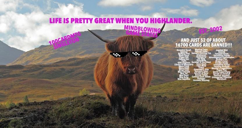 German Highlander – Primer